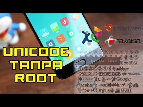 Cara Menampilkan Logo Operator (Unicode) Xiaomi Tanpa Root & di Semua Android