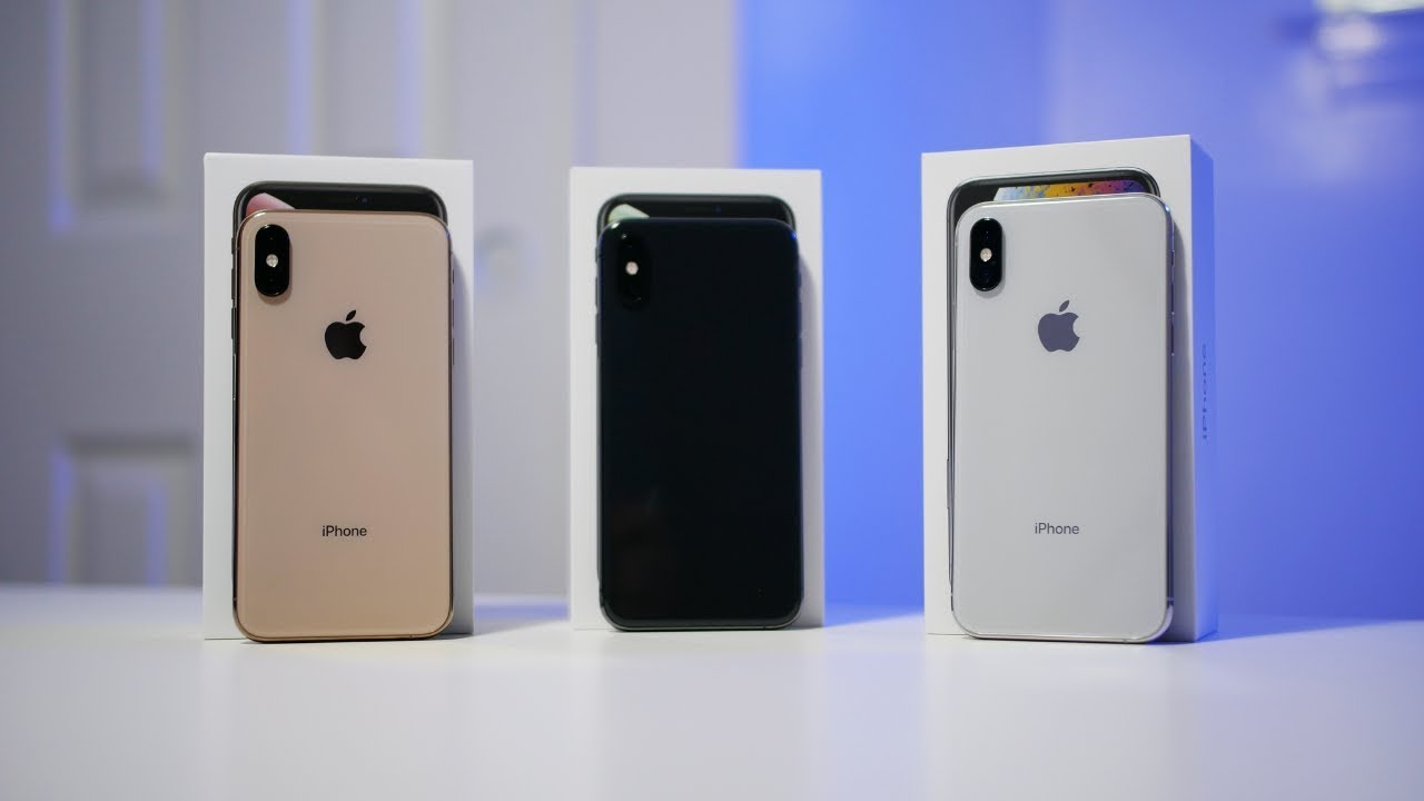 Iphone Xs Color Comparison Gold Vs Space Gray Vs Silver Iphone