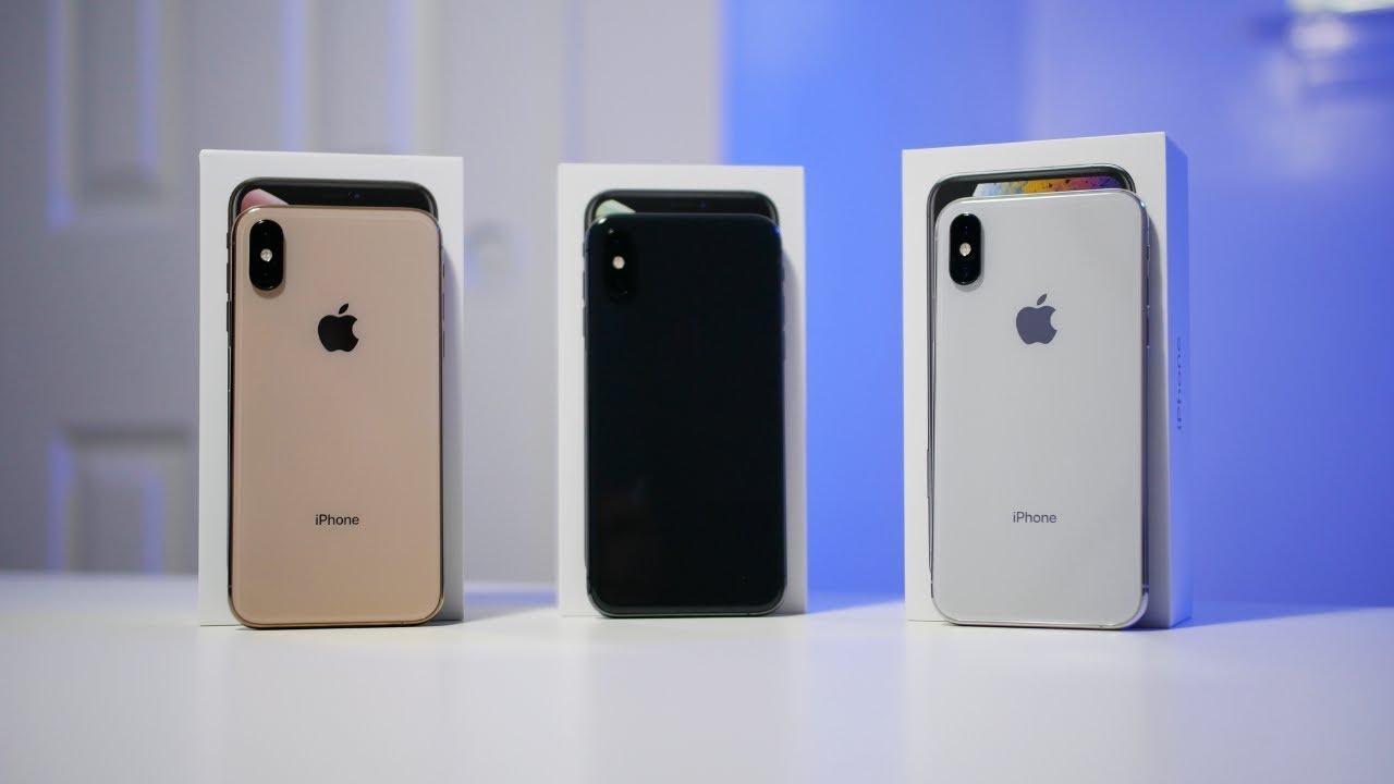Gold Space Comparison Silver Color Comparison - Iphone Xs Vs Gray