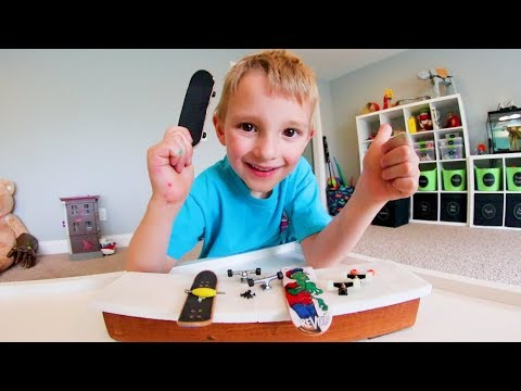 FATHER & SON BUILD A FINGERBOARD!