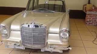 1964 Old Mercedes Benz 220S Restauracion