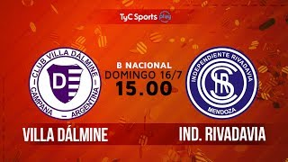 Villa Dálmine vs Independiente Rivadavia full match