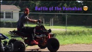 BATTLE OF THE YAMAHAS | BANSHEE VS. YFZ 450 + RAPTOR 700