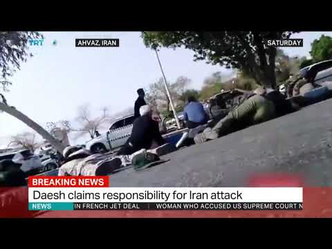 Daesh Releases Video Purportedly Of Gunmen Behind Iran Attack