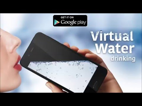 Virtual Water drinking - Android entertainment app