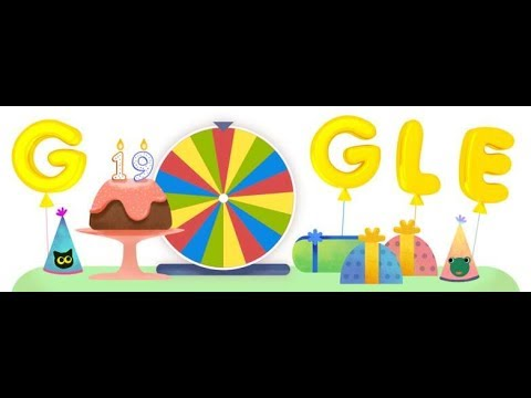 Google Birthday Surprise Spinner: All 19 Games & Other Surprises - Google Event 2017