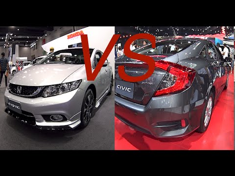 Honda Civic 2016 Vs 2017 >> 2016 2017 Honda Civic Vs 2014 2015 Honda Civic