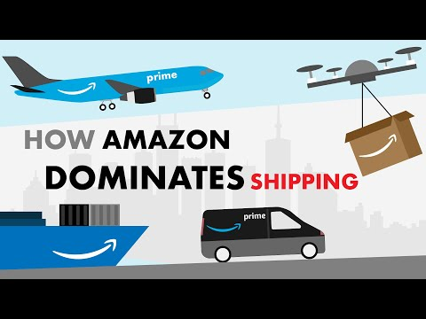 How Amazon Shipping Works ft. UPS, FedEx