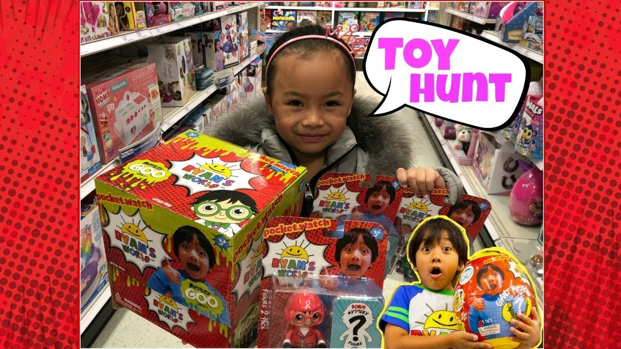 TOY Hunt For Ryan's World Toys | Vlog with Emma