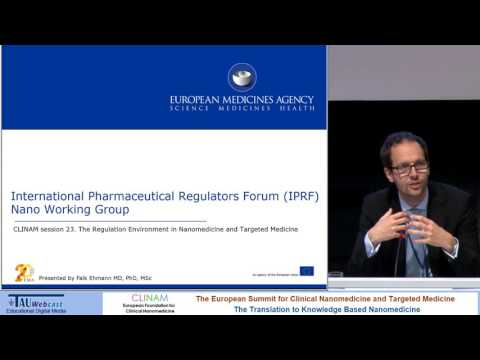 The Regulation Environment in Nanomedicine and Targeted Medicine – We Must Come to Terms