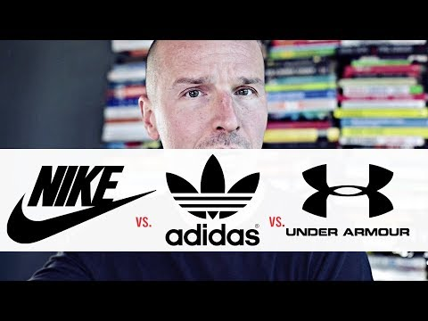 Nike vs. Adidas vs. Under Armour...Chi (ti con)vince?