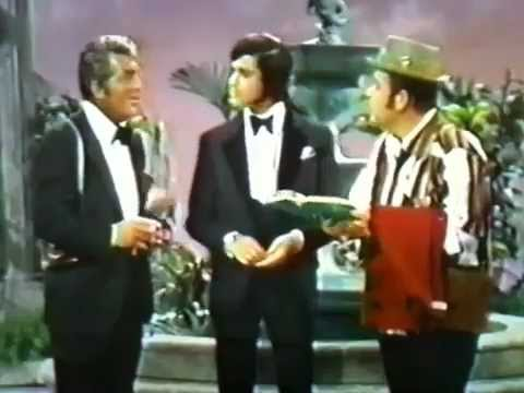"Engelbert Humperdinck- ""Three coins in a fountain"" (with Dean Martin and Dom Deluise)"