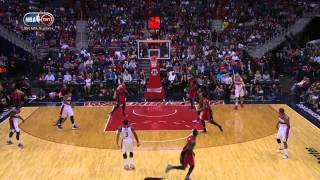 Bradley Beal Rattles Home the Long Three to Beat the Shot Clock