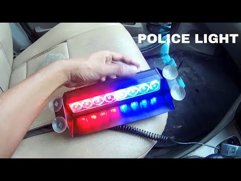 Police Light For Cars, Truck, Tractor | Indeep Custom