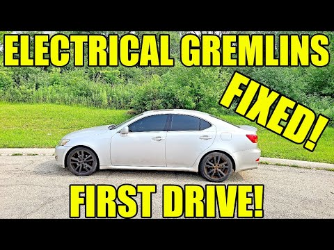 My Free Lexus Was An Electrical Nightmare But I Fixed EVERYTHING For Cheap! DIY Fixes & First Drive!