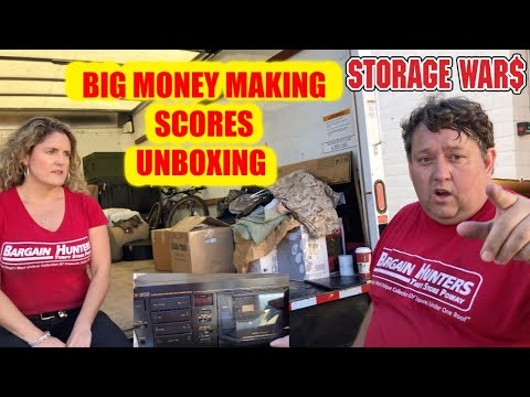 BIG SCORES UNBOXING MILITARY BOXES from ABANDONED Storage Auction