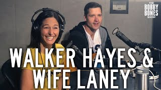 Walker Hayes Brings His Wife Laney To A Radio Interview