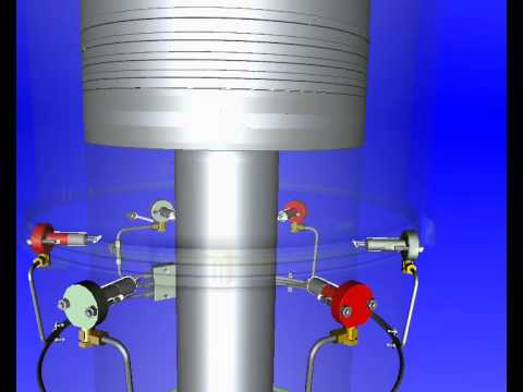 Low Speed Marine Diesel Engine Liner animation