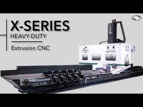 5-Axis CNC for Aluminum Extrusion Processing | The X-Series by C.R. Onsrud | Made in the USA