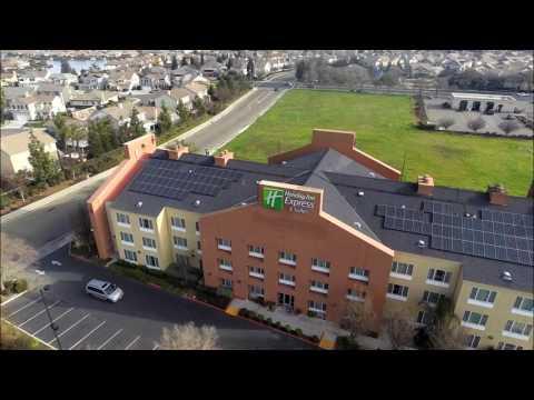 Elk Grove, Holiday Inn Express & Suites 60Kw Solar Install