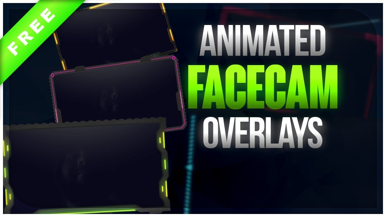 6 Animated Camera Overlays New Free Download Youtube