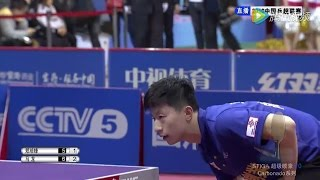 2016 China Super League: MA Long - ZHENG Peifeng  [Full Match/Chinese|HD]