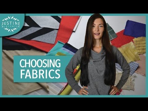 How to choose fabrics for a fashion collection | Justine Leconte