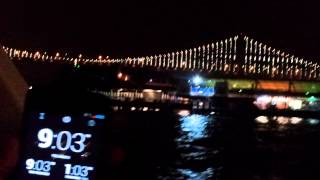 San Francisco Bay Bridge LED Light Expo Up 20130305(, 2013-06-07T02:24:56.000Z)