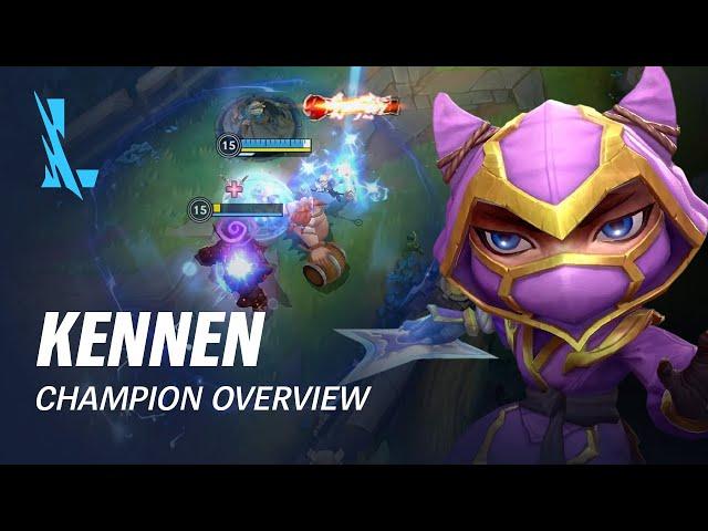 Kennen Champion Overview | Gameplay - League of Legends: Wild Rift