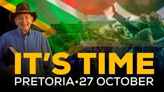 Biggest Christian Prayer gathering in the history of South Africa - IT'S TIME PRETORIA - 27 Oct 2018