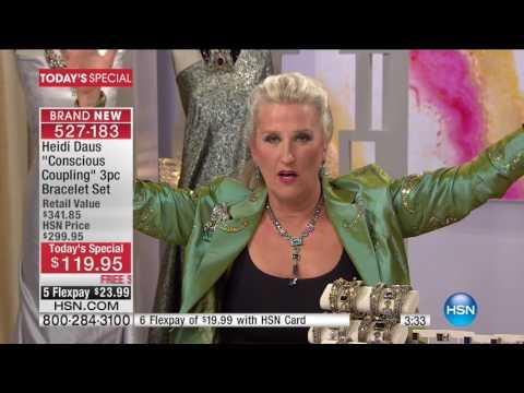 HSN | Heidi Daus Fashion Jewelry 01.24.2017 - 05 PM