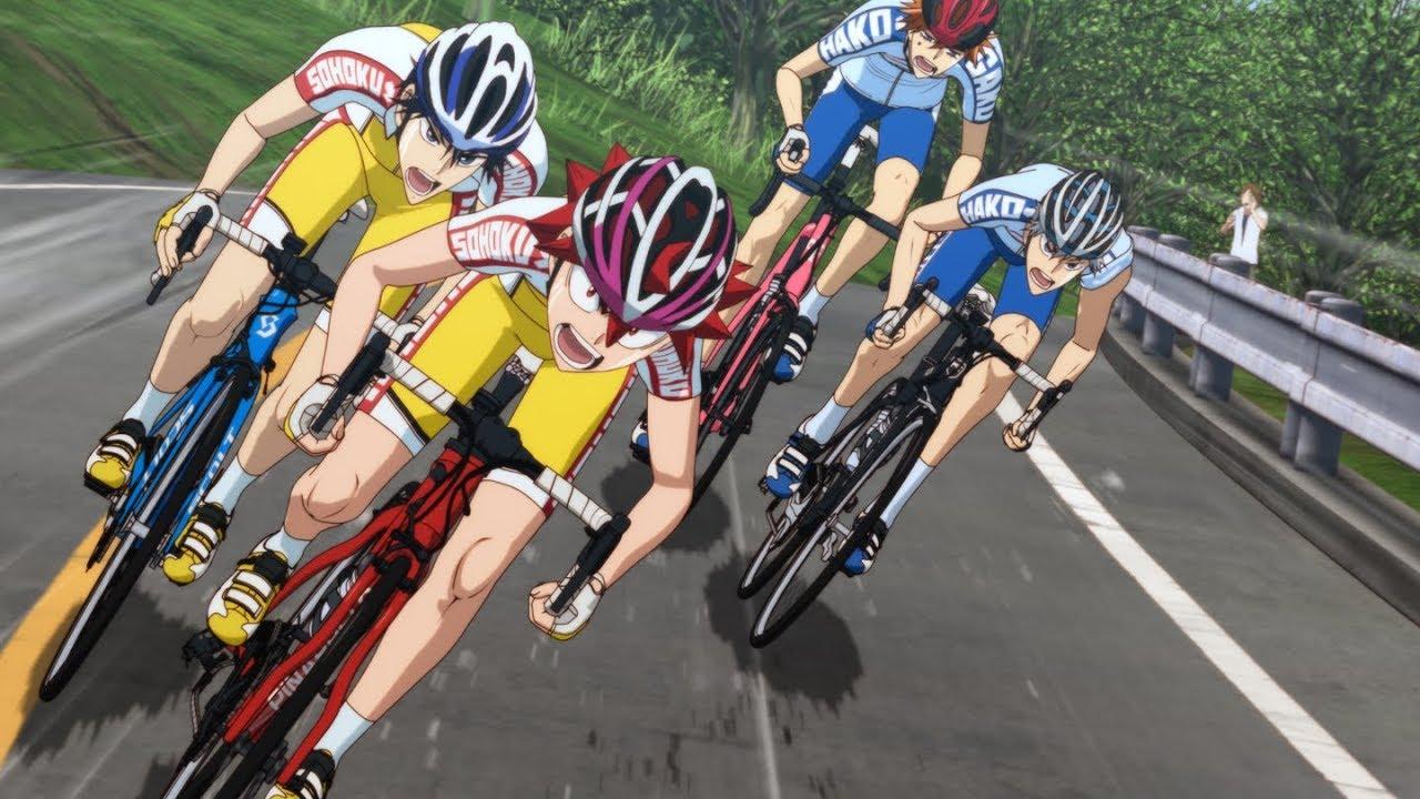 自転車が好きになる漫画 弱虫ペダル のキャラクター紹介