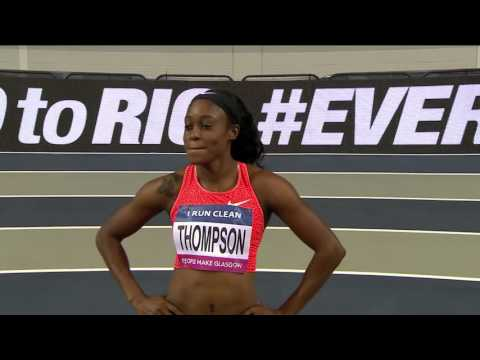 Athletics - Glasgow Indoor Grand Prix 2016