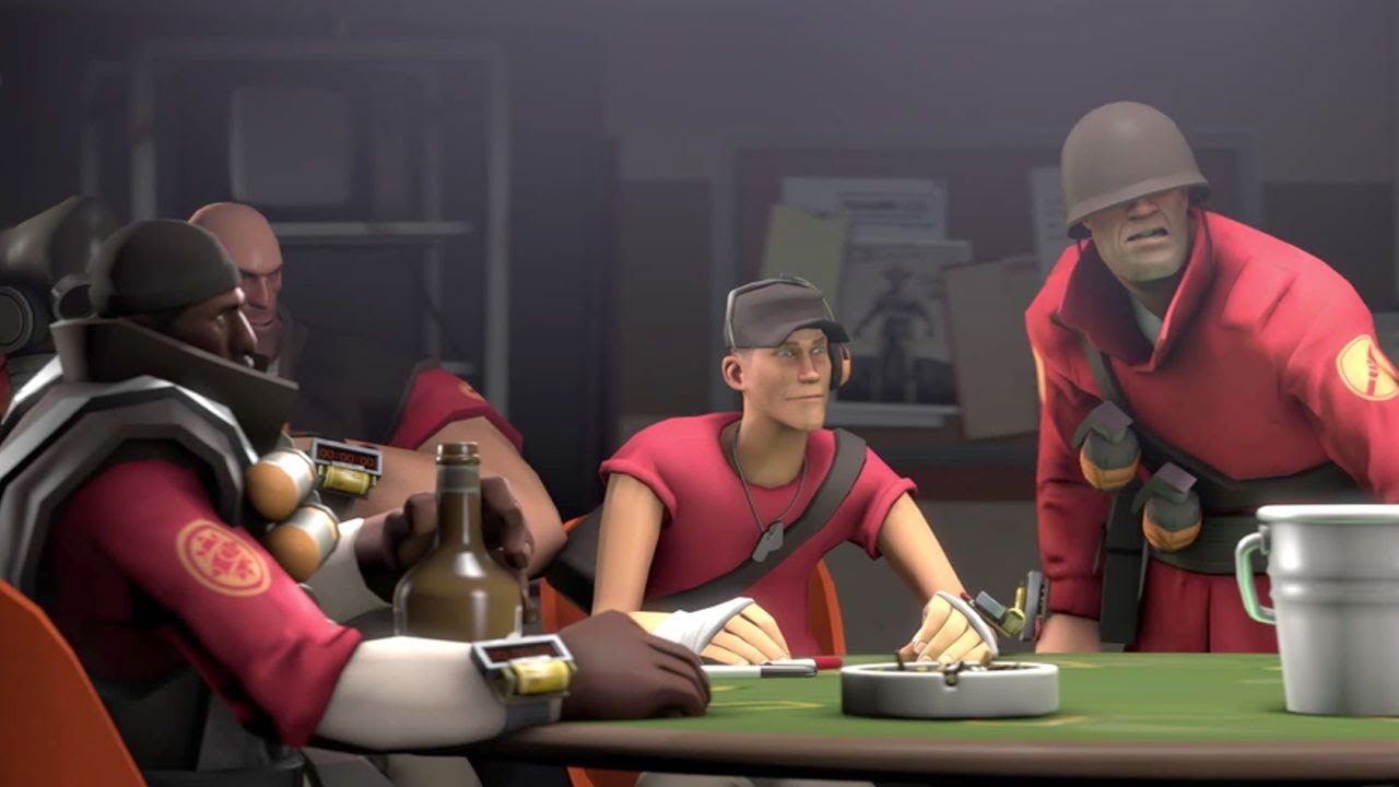Team Fortress 2 Love And War Cinematic Youtube