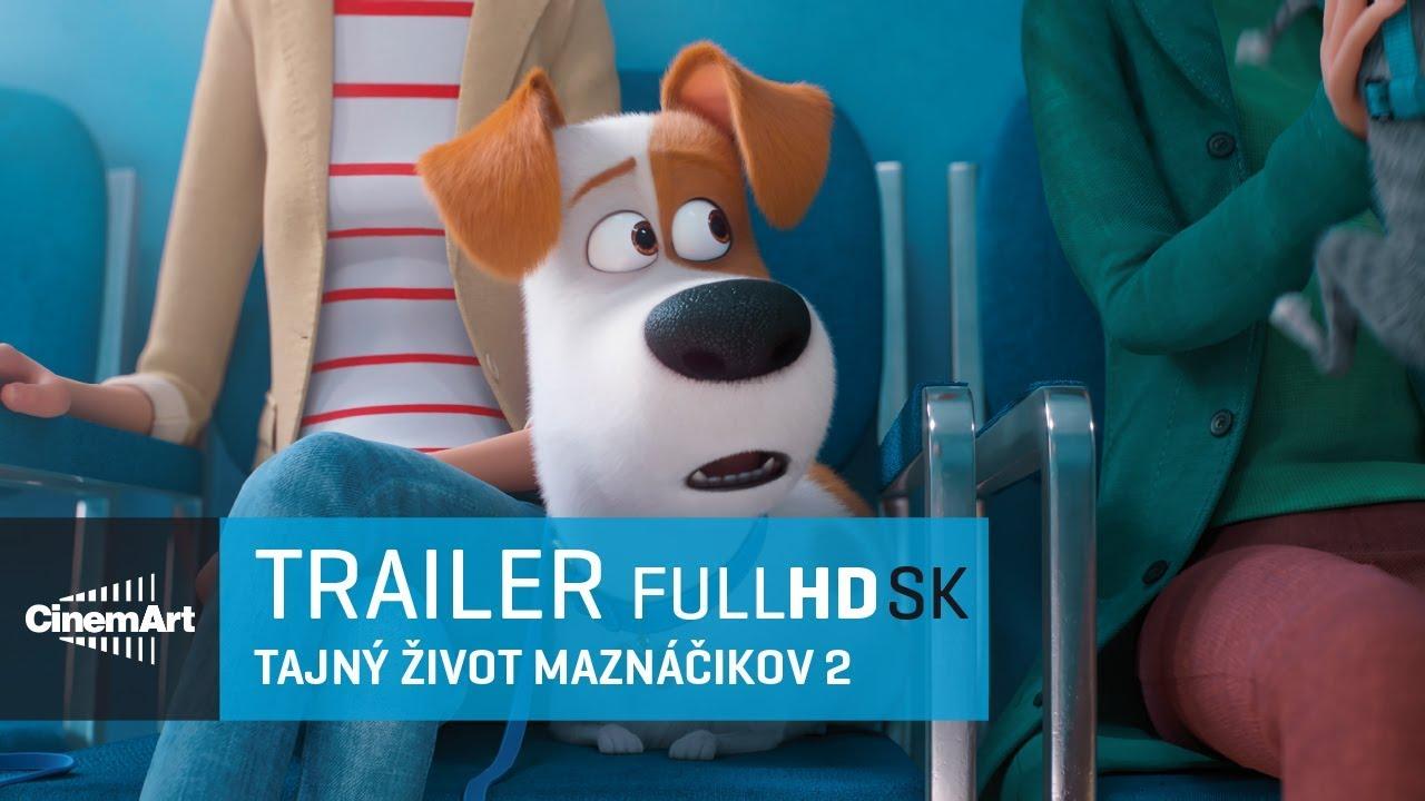 503829151 Tajný život maznáčikov 2 ( 2019 )/ oficiálny HD trailer # 1 [SK DAB ...
