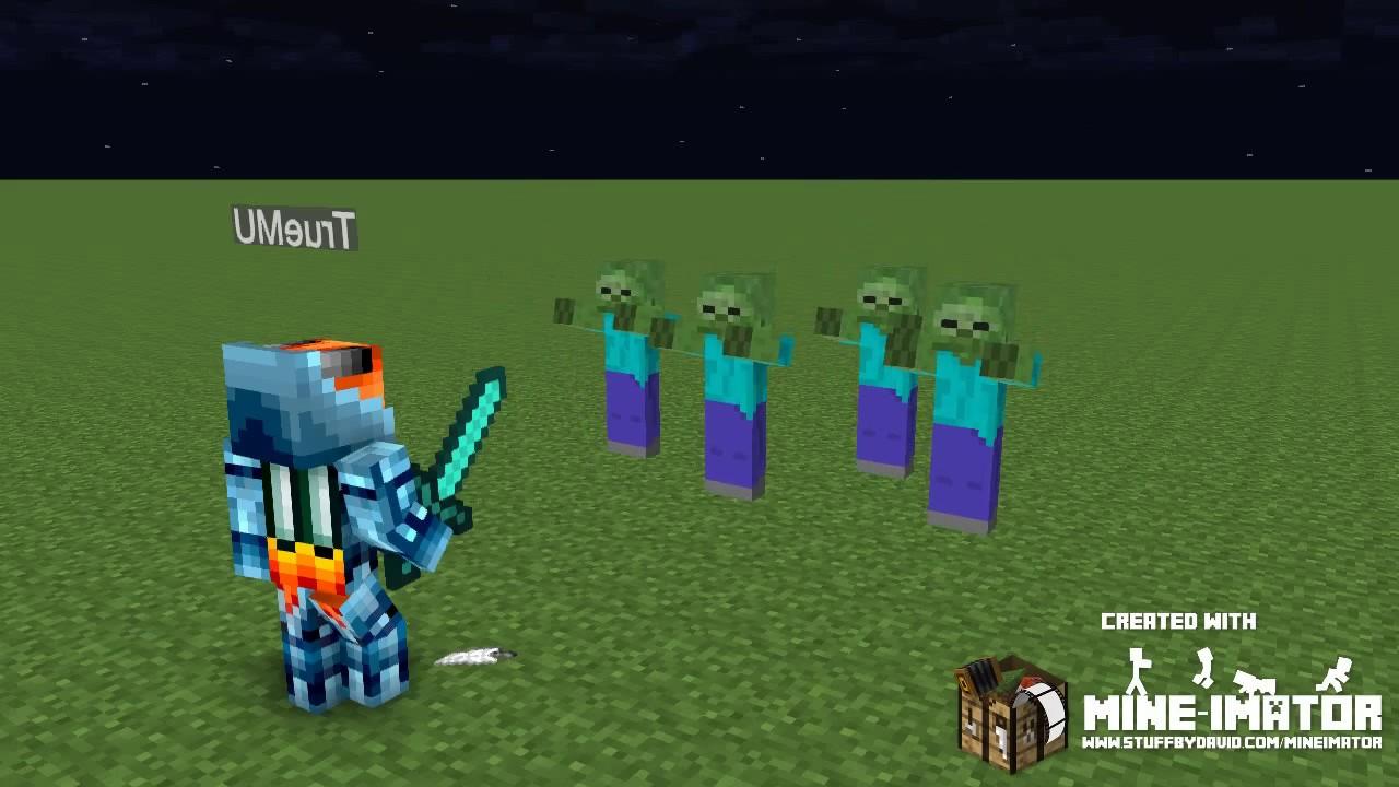 how to make a minecraft animation mine imator