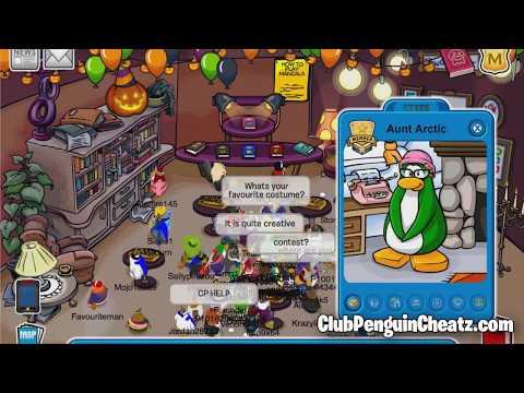 Club Penguin - Aunt Arctic 2011