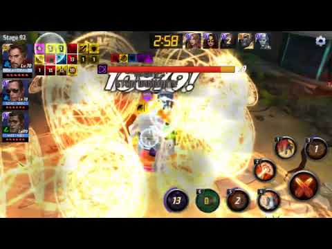 Marvel Future Fight T3 Dr. Strange vs WBU Cull stage 92