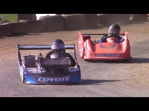 Open Kart Feature | Eriez Speedway | 9-23-17