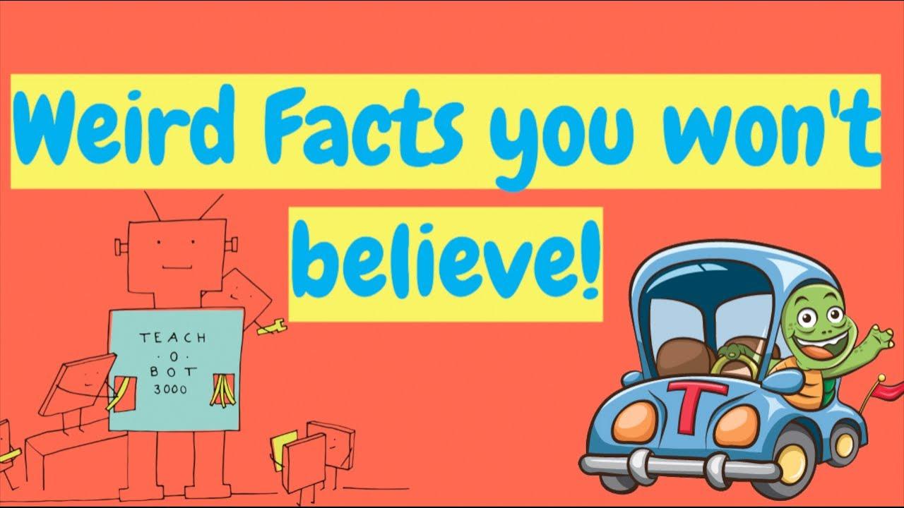 Weird facts you won't believe!