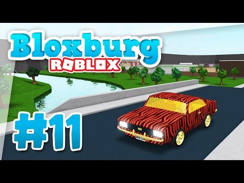 Bloxburg #11 - BRAND NEW CAR (Roblox Welcome to Bloxburg)