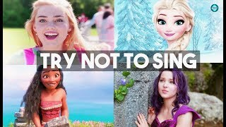 Try Not To Sing Along Challenge !! -Disney Edition- !!