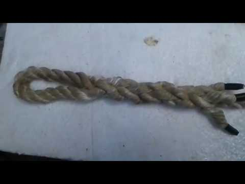 How To Eye  Splice A 3 Strand Rope