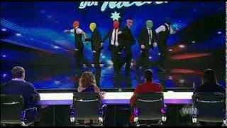 Swagamama - Dance Troupe - Australia's Got Talent 2013 - Audition [FULL]