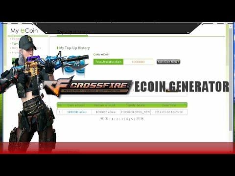 CrossFire ECoin Generator 2017