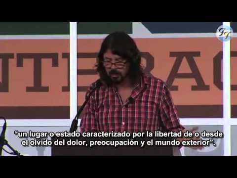 Dave Grohl - South By Southwest (SXSW) 2013 Keynote SUBTITULADO