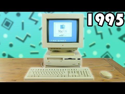 An Apple Mac From 1995