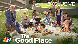 The cast gives a behind-the-scenes look at what goes down on typical day set of good place.» subscribe for more: http://bit.ly/nbcthegoodplace» ...