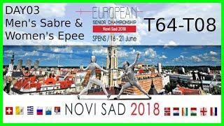 European Championships 2018 Novi Sad Day03 - Piste 6