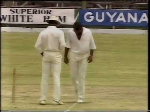 *RARE* MALCOLM MARSHALL ball by ball bowling vs Australia 1991 2nd test GUYANA
